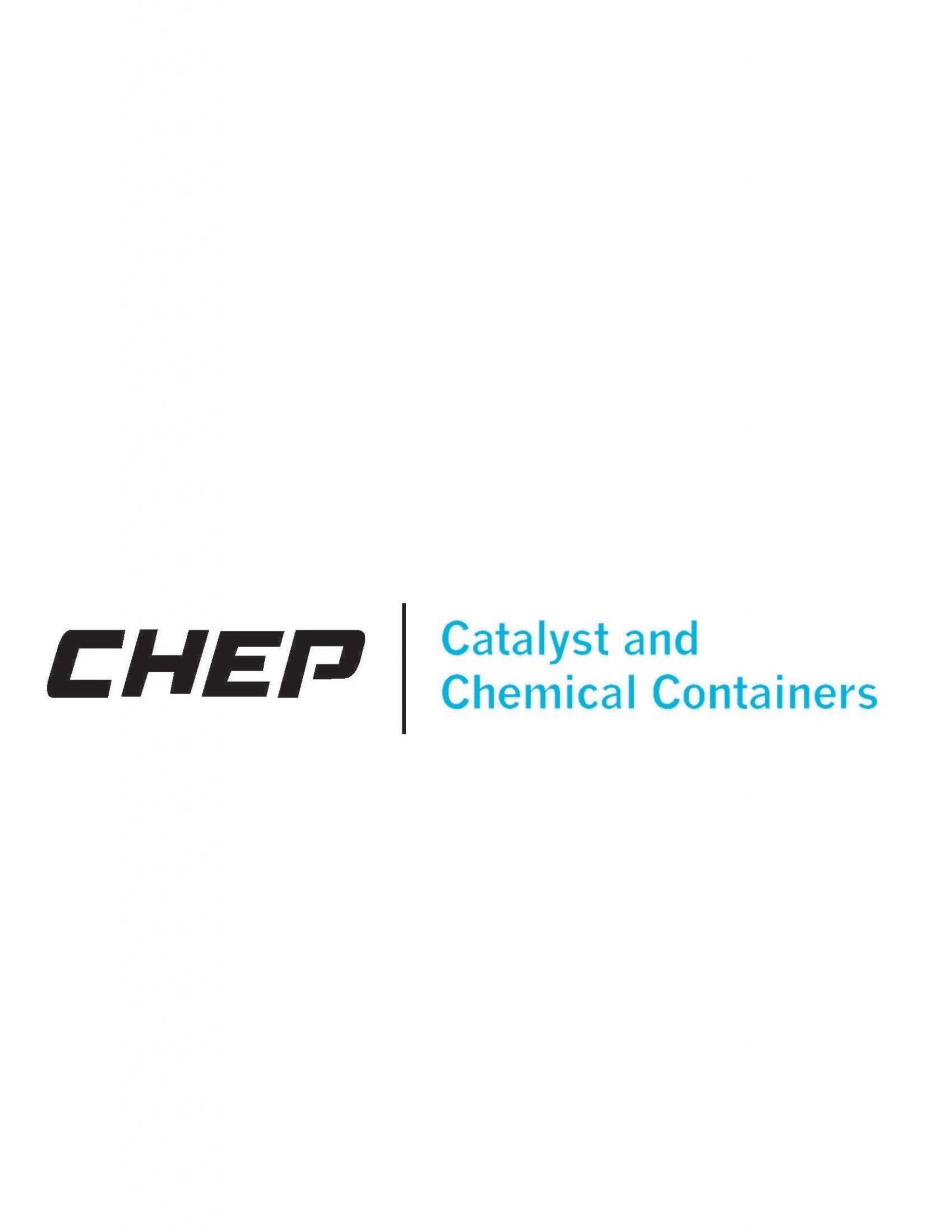 (PRNewsFoto/CHEP Catalyst & Chemical.......)